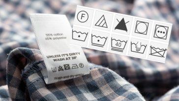 KOYIZ: Τι σημαίνουν τα σύμβολα πλυσίματος στα ρούχα;