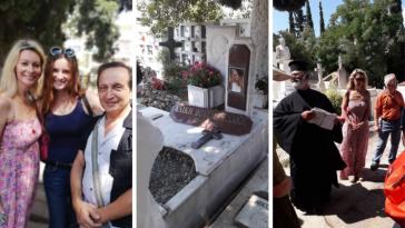 Ο Μπιμπίλας μοιράζεται 10 φωτογραφίες απ' το μνημόσυνο για τα 23 χρόνια απ' το θάνατο της Αλίκης
