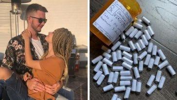 Αυτός ο τύπος φτιάχνει «χάπια αγάπης» για να βοηθήσει την κοπέλα του ν' αντιμετωπίσει το άγχος και τις κρίσεις πανικού