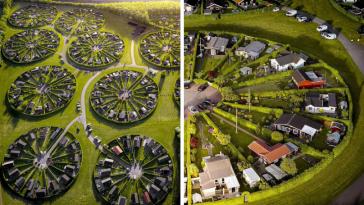Αυτοί οι άνθρωποι ζουν σε σουρεαλιστικούς κυκλικούς κήπους. Γιατί;