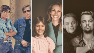 30 διάσημοι αγκαλιά με το νεότερο εαυτό τους