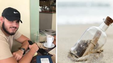 10χρονος έστειλε μήνυμα μέσα σε μπουκάλι, και μόλις έλαβε απάντηση – 9 χρόνια μετά!