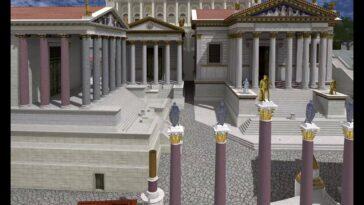Ψηφιακή προσομοίωση σε 3D: Περπατήστε στην Αρχαία Ρώμη του 320μ.Χ.