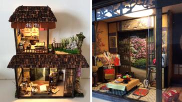 Οι εκπληκτικές μινιατούρες παραδοσιακών γιαπωνέζικων σπιτιών