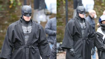 Ο «Batman» Robert Pattinson εμφανίστηκε με μπουρνούζι και τα αστεία δεν λένε να σταματήσουν