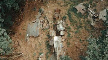Πίνδος: Πώς είναι σήμερα το αεροφωτογραφικό Φάντομ που συνετρίβη το 2001